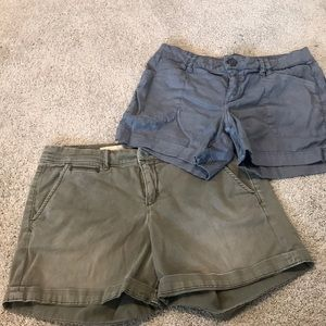 Anthropologie pilcro and level 99 shorts